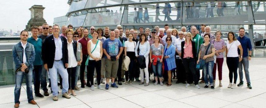 Berlinreise mit Saskia Esken MdB ein Erlebnis ...